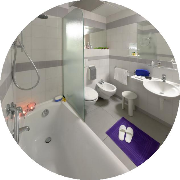 bagno | Albergo Ristorante ad Alba (CN) | Hotel I Castelli