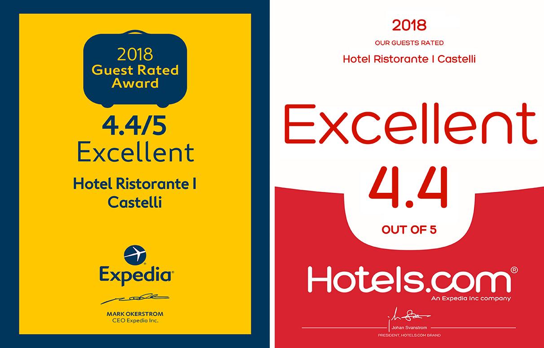 Expedia e Hotels.com
